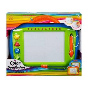 Doodle Aksesuarlı Renkli Yazı Tahtası 37 cm.