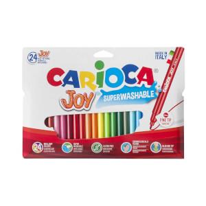 Carioca Joy Yıkanabilir Keçeli Boya Kalemi 24'lü