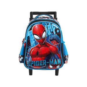 Spiderman Çekçekli Okul Çantası 5254