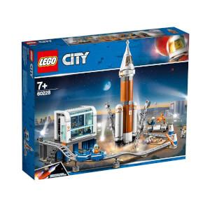 LEGO City Space Port Uzay Roketi ve Fırlatma Kontrolü 60228