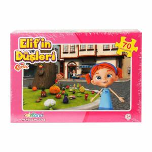 Elif'in Düşleri : 70 Parça Puzzle