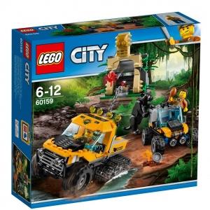LEGO City Orman Orman Yarı Paletli Ekip 60159
