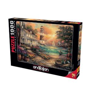 1000 Parça Puzzle : Sahildeki Konak Puzzle