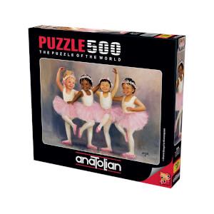 500 Parça Puzzle : Minik Balerinler
