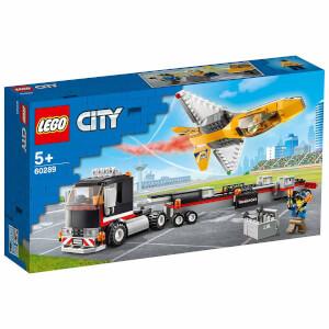 LEGO City Great Vehicles Gösteri Jeti Taşıma Aracı 60289