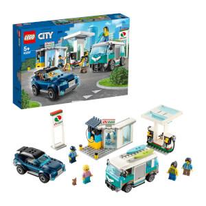 LEGO City Nitro Wheels Servis İstasyonu 60257