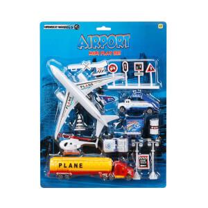Havaalanı Oyun Seti 14 Parça