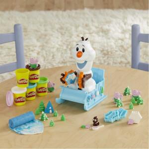 Play Doh Frozen Olaf'ın Kızağı E5375