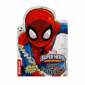 Marvel Super Hero Adventures Çıkartmalı Boyama Koleksiyonu