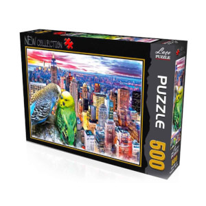 500 Parça Puzzle : Kuşlar