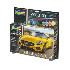 Revell 1:24 Mercedes Model Set Araba 7028