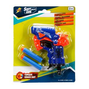Dart Blaster Sünger Disk Atan Silah