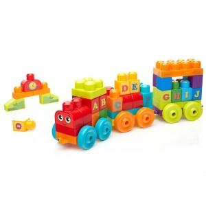 Mega Bloks ABC Alfabe Treni DXH35