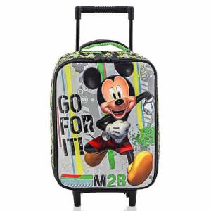 Mickey Mouse Çekçekli Anaokul Çantası 5184