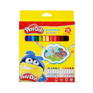 Play Doh Keçeli Kalem 12 Renk Karton Kutu