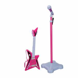 Gitar ve Mikrofon Seti