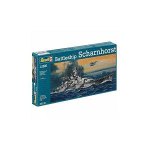 Revell 1:1200 Battleship Scharnhorst Gemi 5136