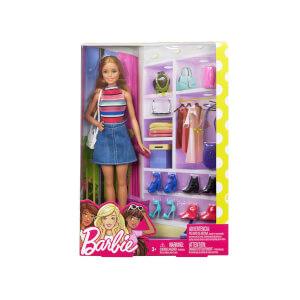 Barbie Bebek ve Muhteşem Aksesuarları FVJ42