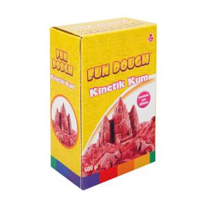 Fun Dough Kinetik Kum 500 gr. Kırmızı