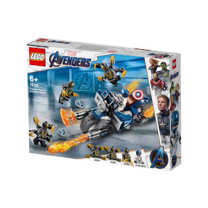 LEGO Marvel Avengers Movie 4 Captain America : Outrider Saldırısı 76123