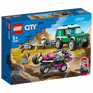 LEGO City Great Vehicles Yarış Arabası Taşıma Aracı 60288