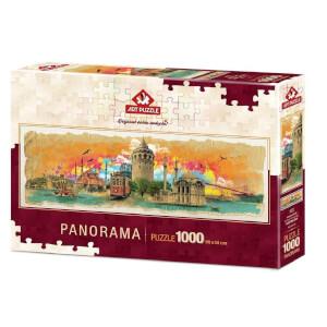 1000 Parça Panaroma Puzzle : İstanbul Kolajı