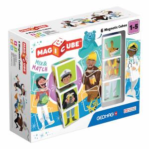 Geomag Magicube Mix&Match Karakterler 6 Parça