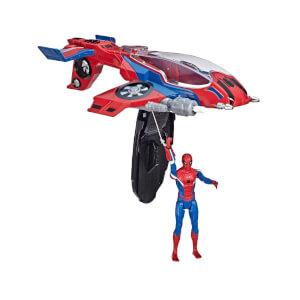Spiderman : Far From Home Spiderjet ve Spiderman Figürü