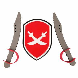 Eva 2'li Kılıç ve Kalkan Seti