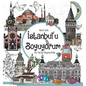 İstanbul'u Boyuyorum Boyama Kitabı