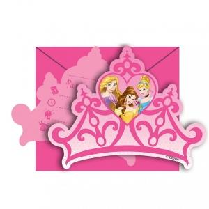 Disney Princess 6'lı Davetiye