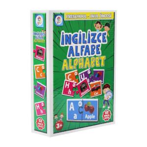 İngilizce Alfabe Okul Öncesi Eğitim Seti 52 Parça