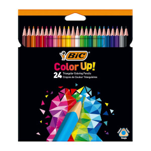 Bic Color Up 24'lü Kuru Boya Kalemi