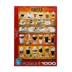 1000 Parça Puzzle : Coffee