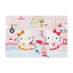 20 Parça Puzzle : Hello Kitty Mutfakta