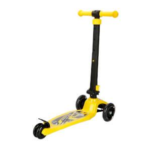 Pilsan Power 3 Tekerlekli Işıklı Scooter Sarı