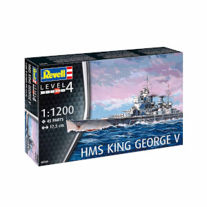 Revell 1:1200 HMS King George V Gemi 05161