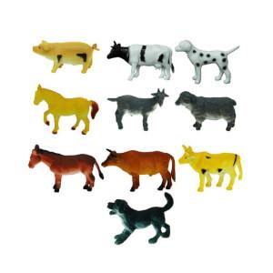 Çiftlik Hayvanları Poşetli Hayvan Oyun Seti