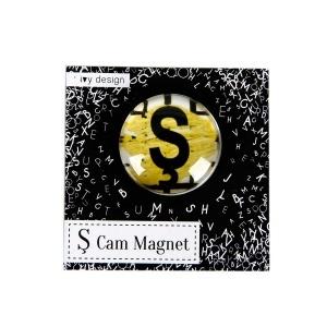 Ş Harfi Cam Magnet