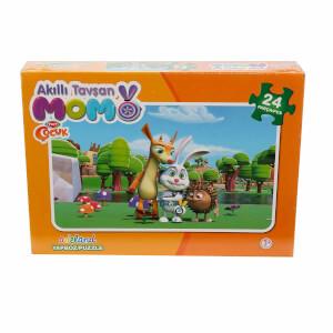 Tavşan Momo : 24 Parça Puzzle