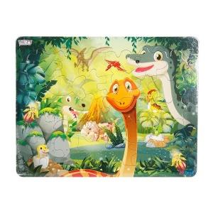 30 Parça Puzzle : Dinozorlar