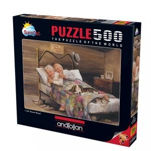 500 Parça Puzzle : Ev Gibisi Yok