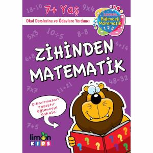 Çıkartmalı Zihinden Matematik - İlkokul Eğlenceli Matematik