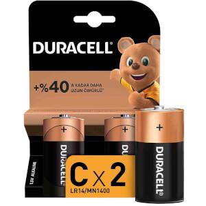 Duracell Büyük Pil C 2'li