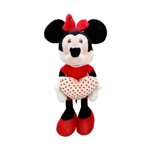 Minnie I Love You Peluş 50 cm.