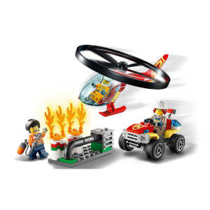 LEGO City Fire İtfaiye Helikopteri Müdahalesi 60248