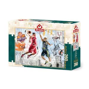 260 Parça Puzzle : Basketbol