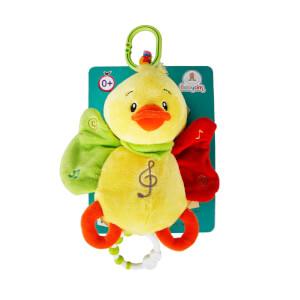 Babycim Müzikli Çıngırak Peluş Ördek