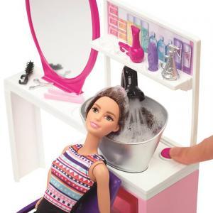 Barbie Kuaför Salonu Oyun Seti(Kumral Barbie)