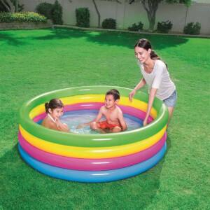 Yuvarlak 4 Halka Bebek Havuzu